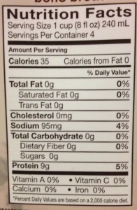 Food Label Whole